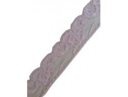 Dentelle nylon beige Largeur 45 mm