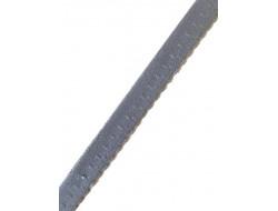 Elastique festonné gris pré-plié