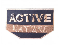 Ecusson thermocollant active nature