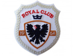 Ecusson thermocollant royal club