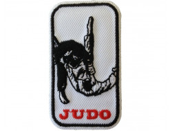 Ecusson thermocollant Judo