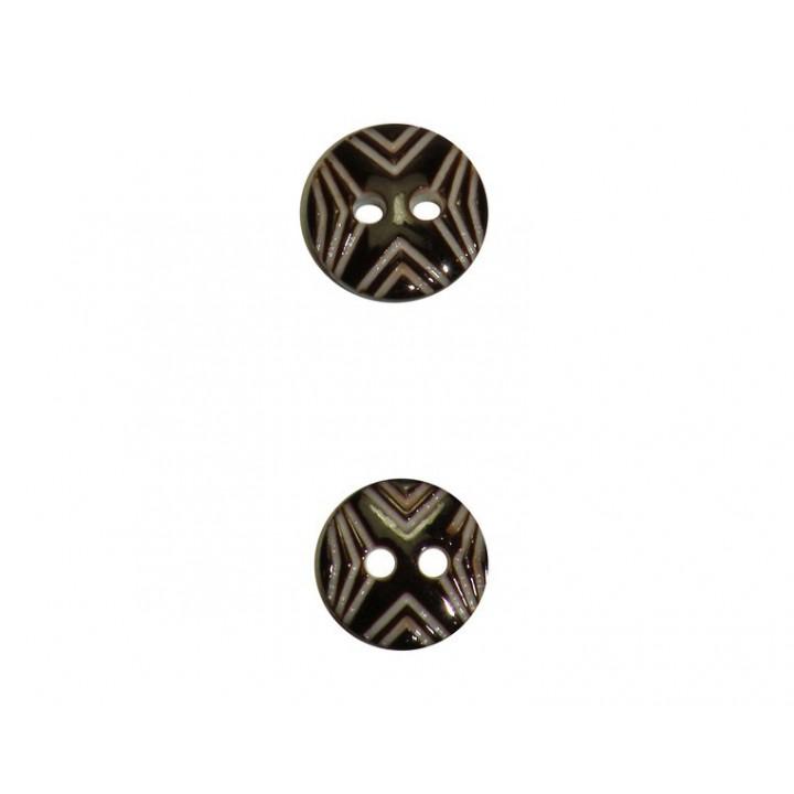 Petits boutons ethnique 10 et 11 mm