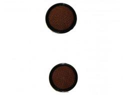 bouton couture brique 20 et 22 mm