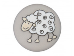 Bouton beige mouton