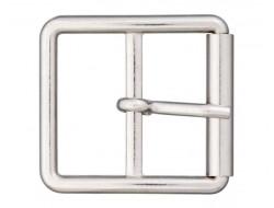 Boucle ceinture métal argent 30 ou 40 mm