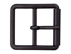 Boucle ceinture métal noir 30 ou 40 mm