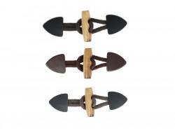 Brandebourg cuir marron, noir ou gris