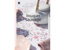 158 - Livre point de croix Bouquet sauvage, RICO