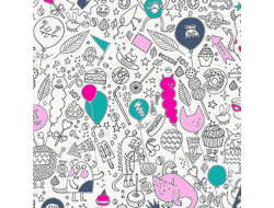 Tissu à colorier - Rico - 100% coton