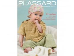 Magazine tricot N°130 Layette enfants été - Laines Plassard
