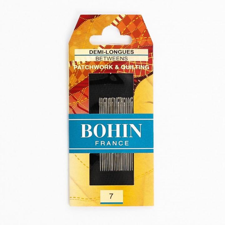 Aiguilles demi-longues Patchwork Bohin N°7
