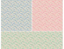 Tissu 50x55 Cherry Blossom Collection Bumblebee