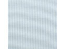 Tissu imprimé - Vichy petits carreaux bleus