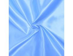 Doublure épaisse satin Bleu ciel