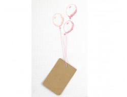 Kit Point de croix - Ballons porte-bonheur