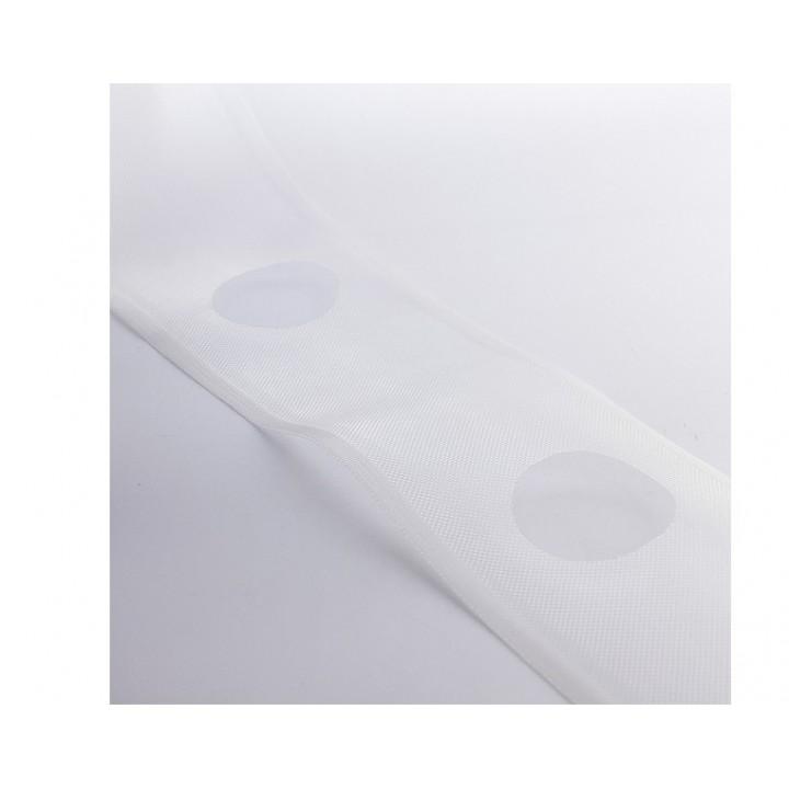 Renfort transparente pré-percée 100 mm