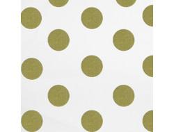 Tissu à pois or - Rico Design