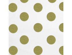 Tissu à pois or - RicoDesign