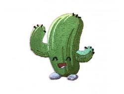 Écusson thermocollant - Cactus rigolo