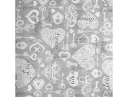 Tissu Dan Morris - Love