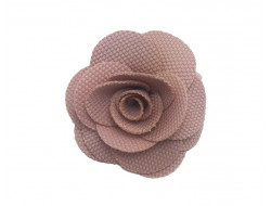 Broche Rose - vieux rose