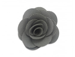 Broche Rose - grise