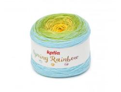 Fil Spring Rainbow Katia 50% Coton 50% Acrylique