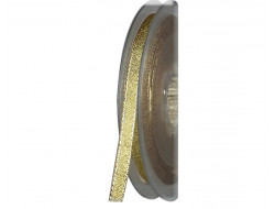 Ruban lamé métallisé doré