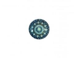 Bouton Mandala - Ciel 18  mm