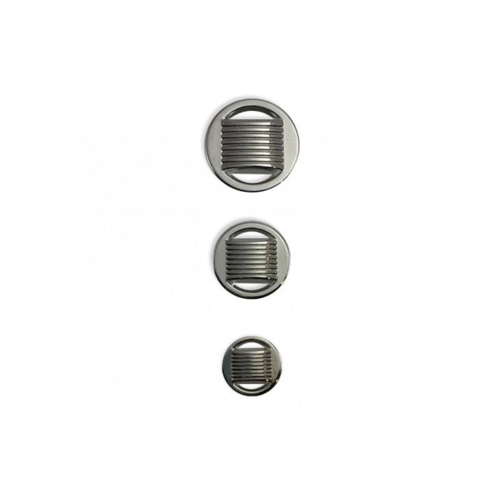 Bouton métal - Argent