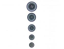 Bouton classique - Aspect bois bleu
