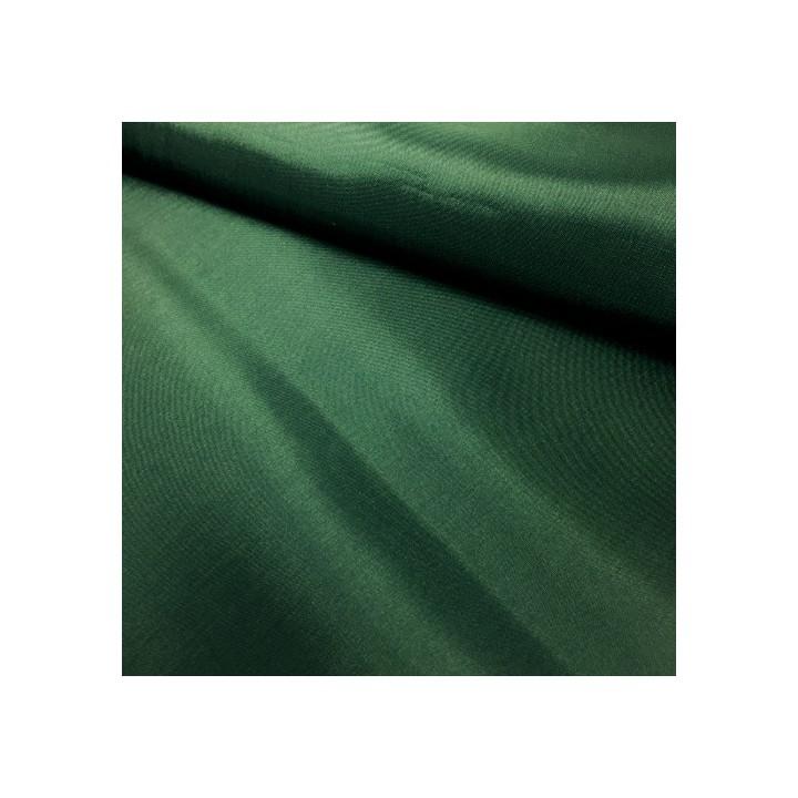 Doublure en pongé - Vert sapin