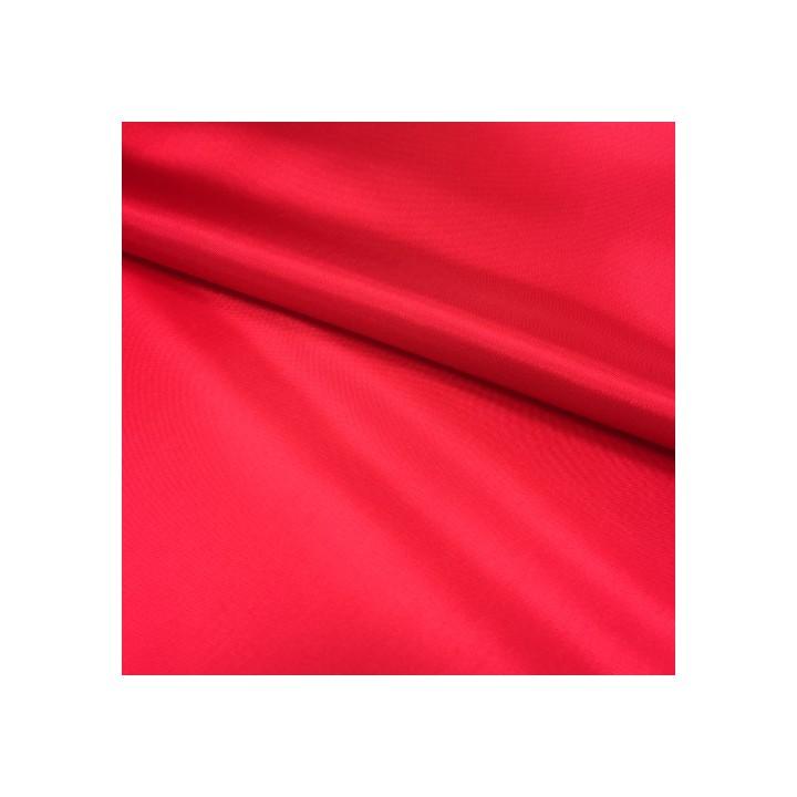 Doublure en pongé - Rouge