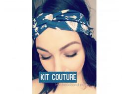Kit couture - Headband tissu