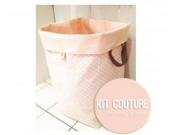 Kit couture - Mon sac à linge réversible