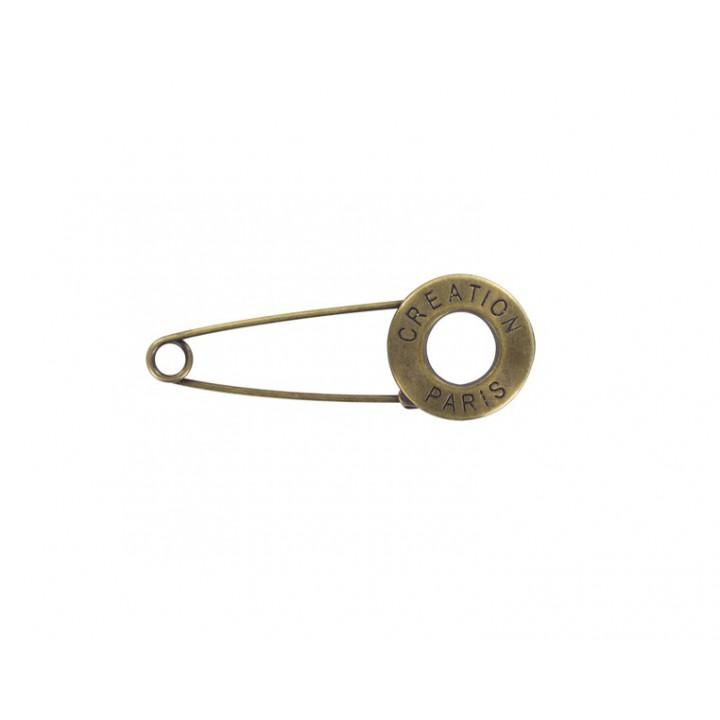 Épingle fantaisie métal - Bronze