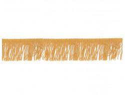 Frange métal doré - 3 cm
