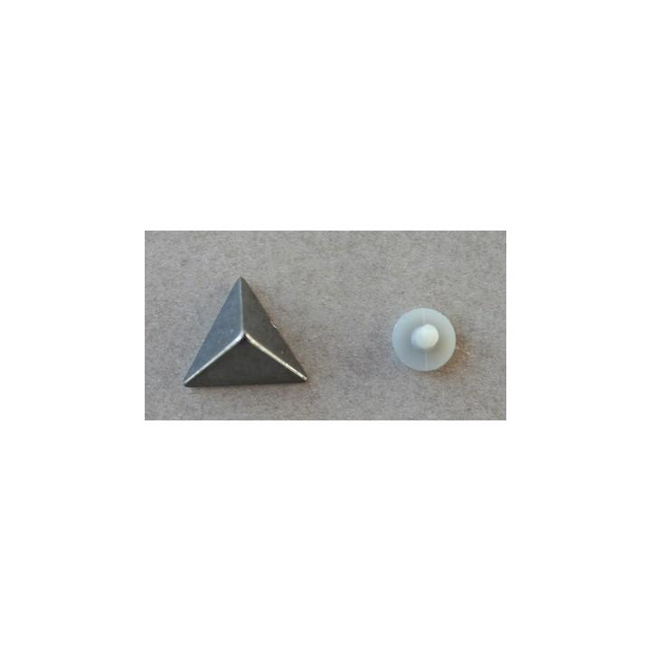 Clou plastique triangle