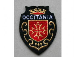 Ecusson à coudre croix occitane