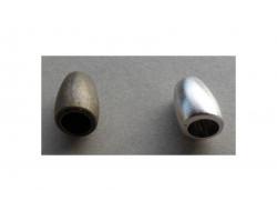 Embouts de cordon plastique bronze ou argent