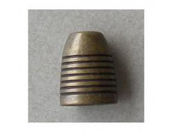 Embout de cordon, gland bronze