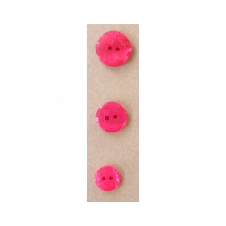 Bouton rose fushia petites fleurs
