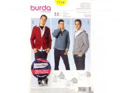 Patron Veste et Tee-shirt 7734 BURDA