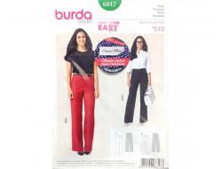 Patron Pantalon 6817 BURDA