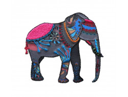 Ecusson thermocollant éléphant