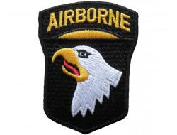 Ecusson thermocollant Airborne, aigle