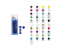 Boutons pression color snaps 12,4 mm Prym