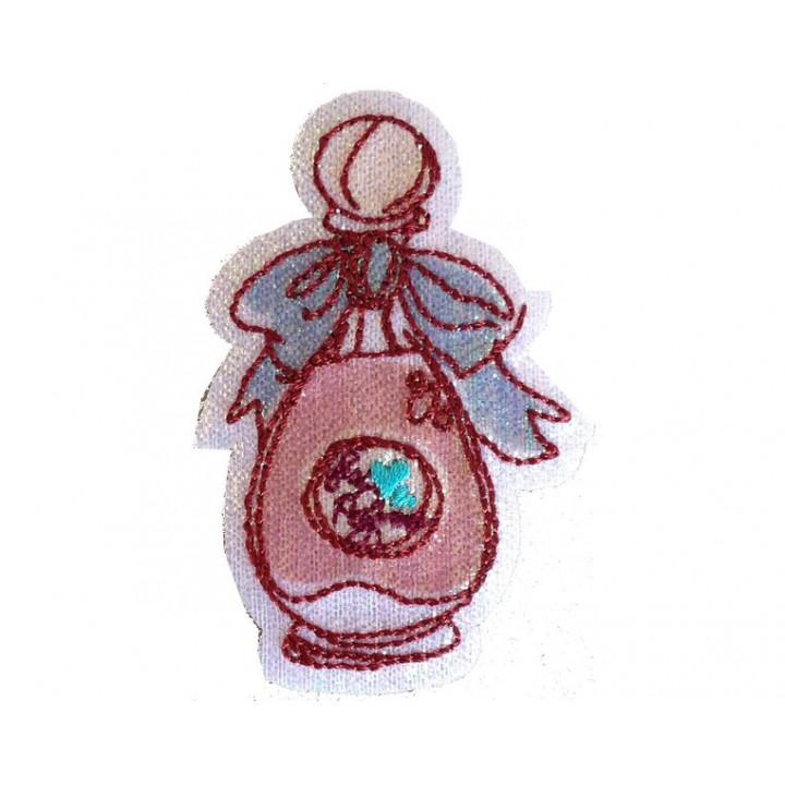 Ecusson thermocollant parfum