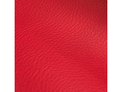Tissu Simili cuir rouge
