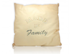 Coussin brodé - Made in Family